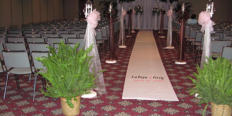 Cajundome Convention Center wedding Acadiana