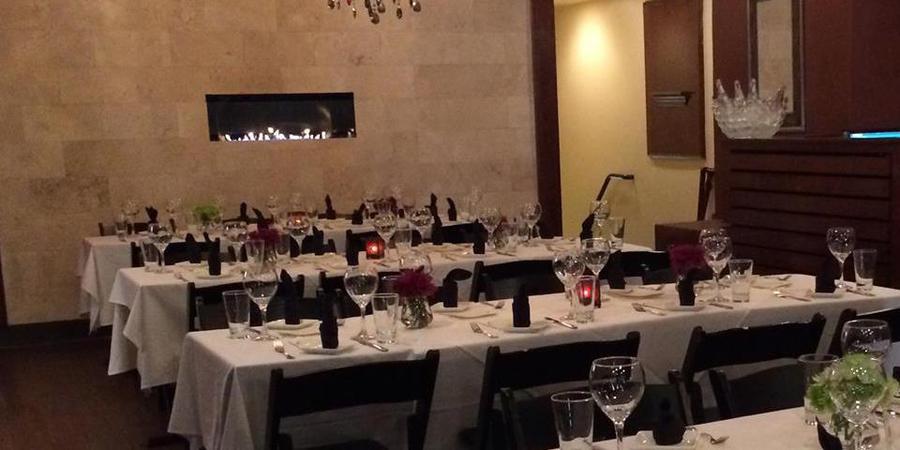 Catch 15 Italian Kitchen + Oyster Bar wedding Washington DC
