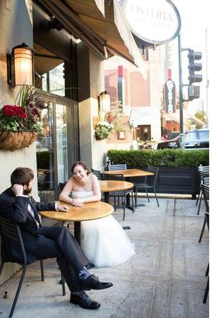 Osteria Via Stato wedding Chicago