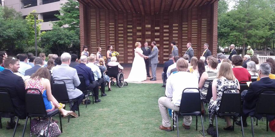 Center City Park wedding Greensboro/Triad