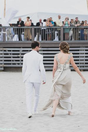 North Beach Clubhouse wedding Coastal Rhode Island