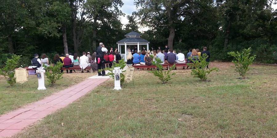 Amber's Arbor wedding Houston