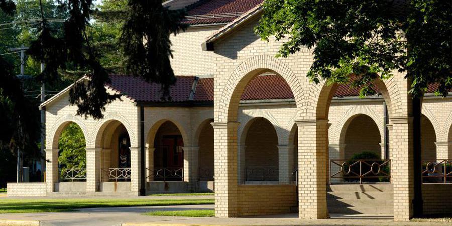 Franciscan Center At Lourdes University wedding Toledo