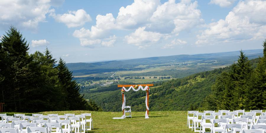 Canaan Valley Resort & Conference Center wedding West Virginia