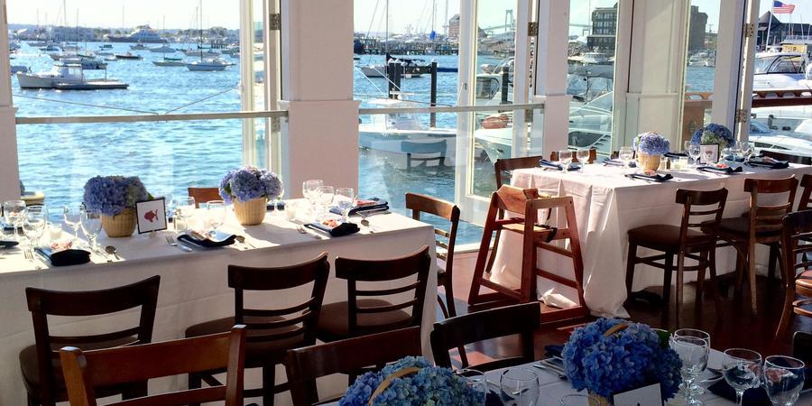 The Landing Restaurant wedding Coastal Rhode Island