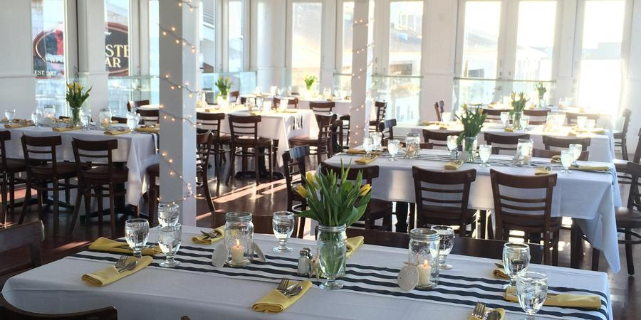 The Landing Restaurant wedding Coastal Rhode Island
