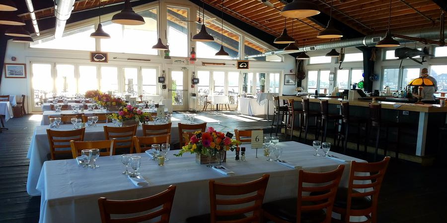 The Lobster Bar wedding Coastal Rhode Island