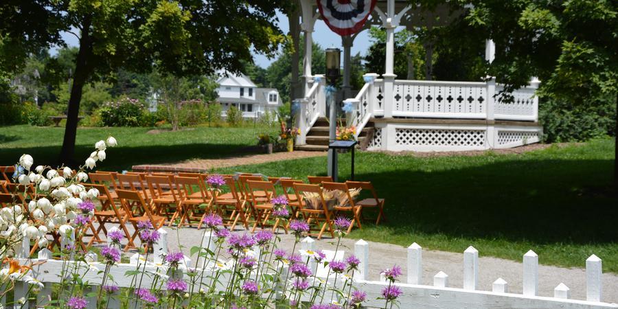 Mill Race Village - Northville Historical Society wedding Detroit
