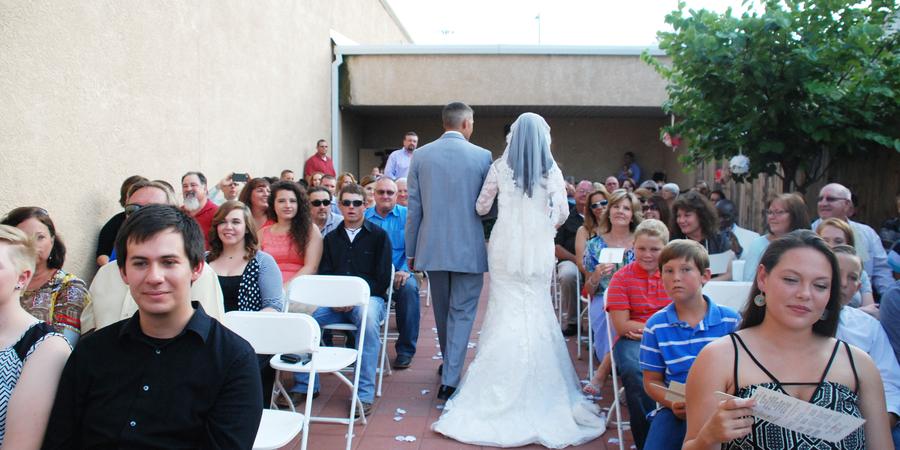 The Historic YAM Theatre wedding New Mexico