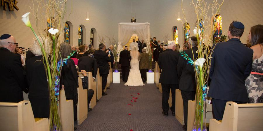 Beth Hillel Congregation Bnai Emunah wedding Chicago