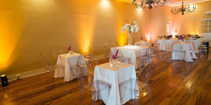 Marion's in the French Quarter wedding Charleston