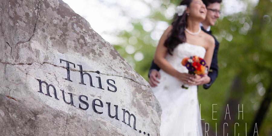 Fuller Craft Museum wedding South Shore