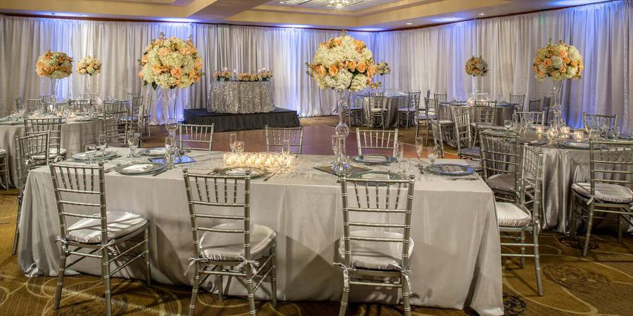 DoubleTree by Hilton Hotel Carson wedding Los Angeles