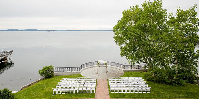 Stone House at the Bar Harbor Regency Hotel wedding Maine