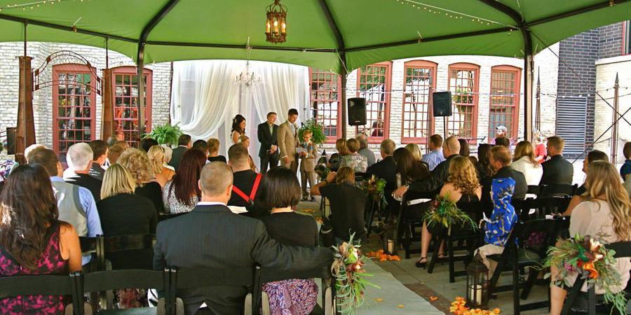 Aster Café wedding Minnesota