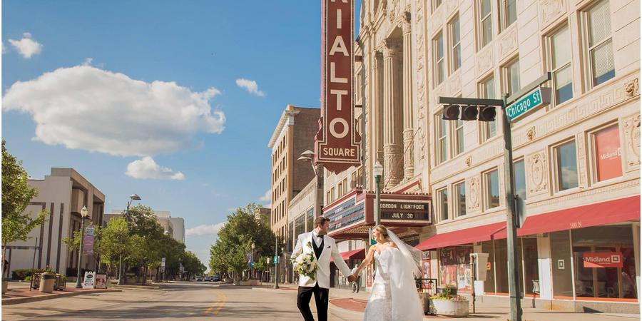 Rialto Square Theatre wedding Chicago