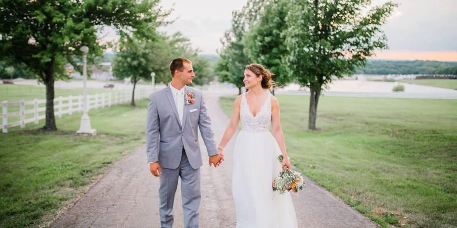 The Hilltop at Berry Acres wedding Kansas City