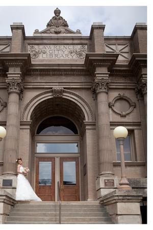 Carnegie Building wedding Kansas City