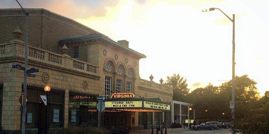 Virginia Theatre wedding Central Illinois