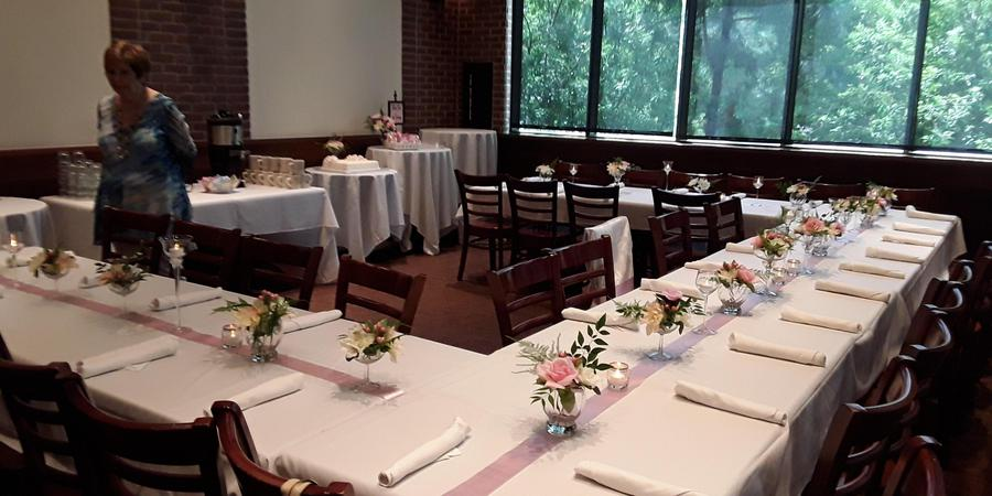 Black Walnut Café wedding Houston
