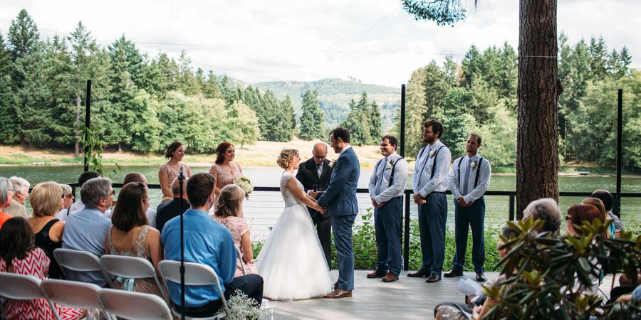 Northwest Trek Wildlife Park wedding Tacoma