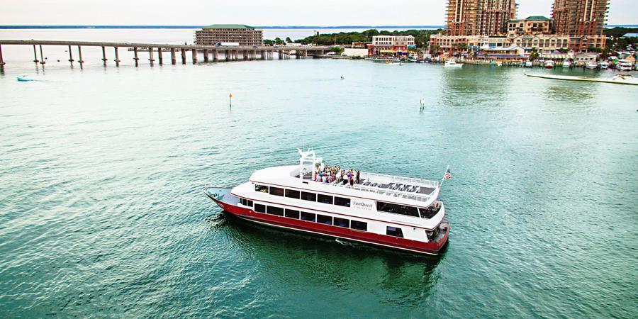 Sunquest Cruises | SOLARIS Yacht wedding Northwest Florida
