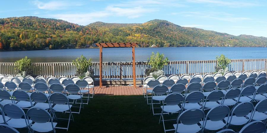Lake Morey Resort wedding Vermont