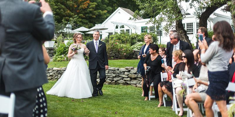 The Hermitage Inn wedding Vermont