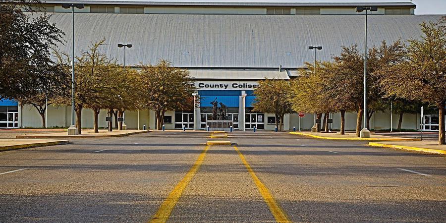 Ector County Coliseum wedding Fort Worth