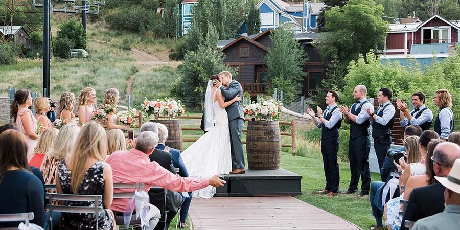 The Bridge Cafe & Grill wedding Salt Lake City