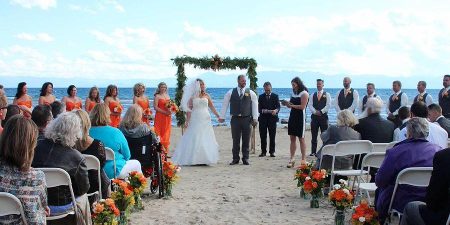 Franciscan Lakeside Lodge wedding Tahoe