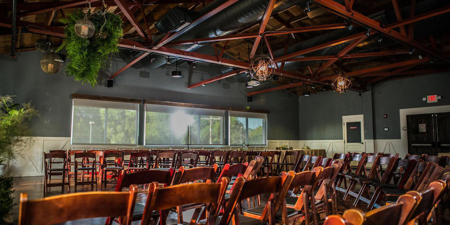 Audubon Park Exchange Ballroom at East End Market wedding Orlando