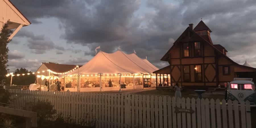 Indian River Life-Saving Station wedding Delaware