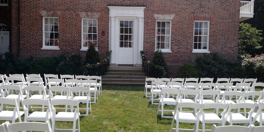 Historic Ogle House wedding Annapolis