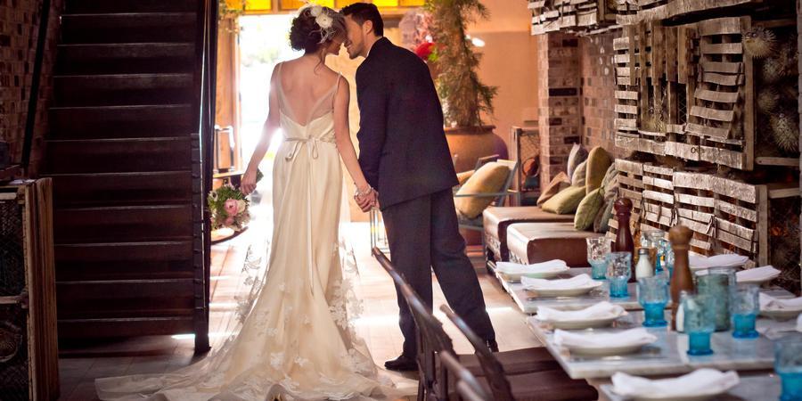 Herringbone La Jolla wedding San Diego