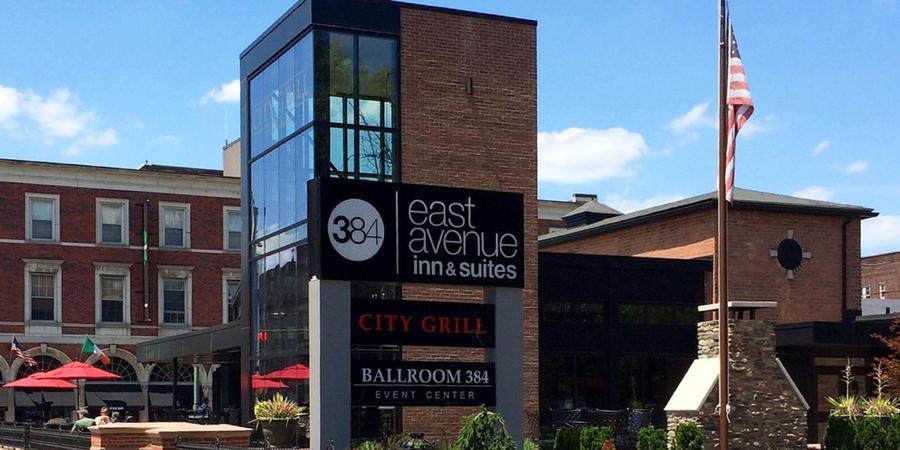 East Avenue Inn & Suites wedding Finger Lakes