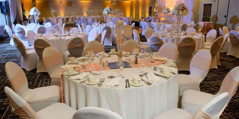 Crowne Plaza Dulles Airport wedding Northern Virginia