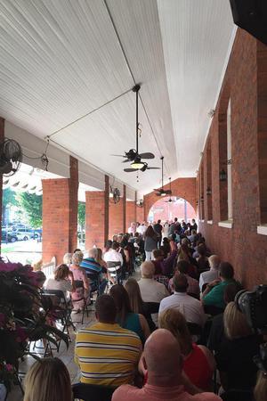 Belmont Inn wedding Greenville