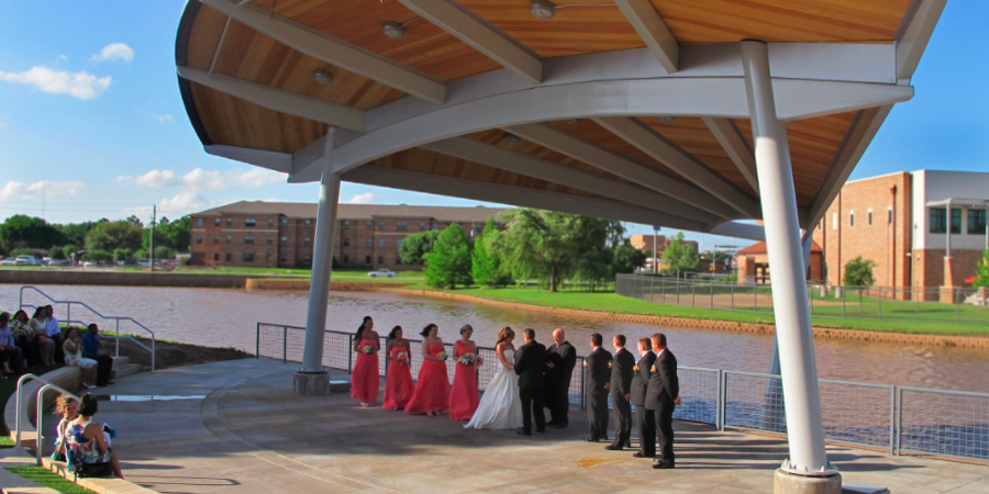 Wichita Falls Museum of Art wedding Fort Worth