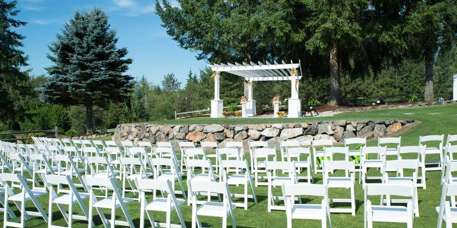 Blue Boy West Golf Course and Event Venue wedding Seattle