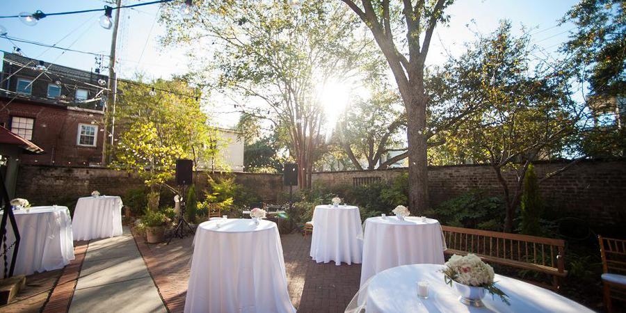 Massie Heritage Center wedding Savannah