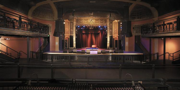 The Ogden Theatre wedding Denver