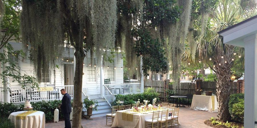 The Beaufort Inn wedding Hilton Head