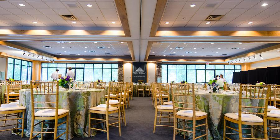 Education Hall at Wolf Trap wedding Northern Virginia