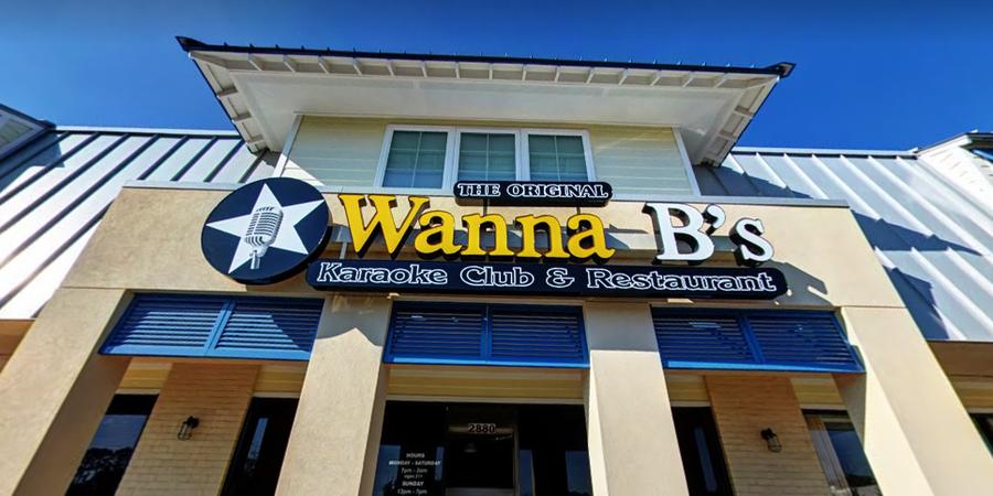 Wanna B's Karaoke Club wedding Virginia Beach