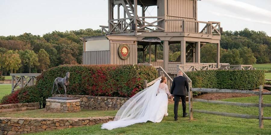 Great Meadow Foundation wedding Northern Virginia