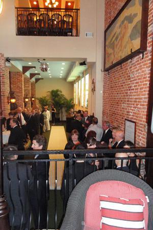 La Scala Ristorante Italiano wedding Baltimore