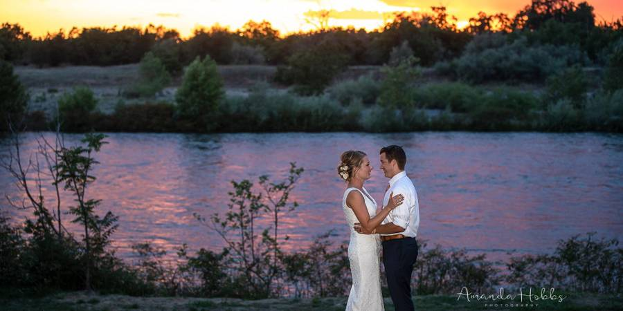 Riffles Resort wedding Sacramento