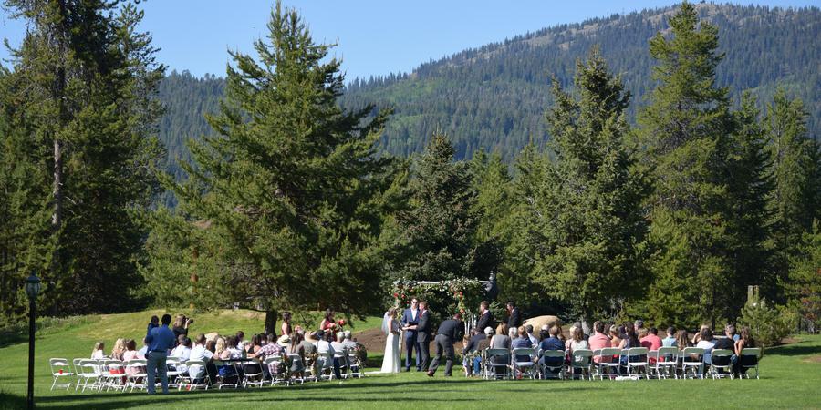 Bear Creek Lodge wedding Idaho