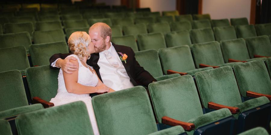 Pella Opera House wedding Des Moines